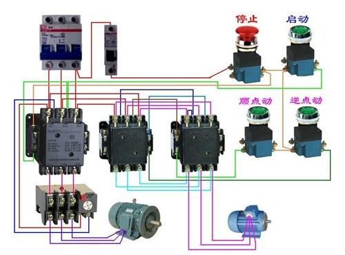 热继电器的工作原理图